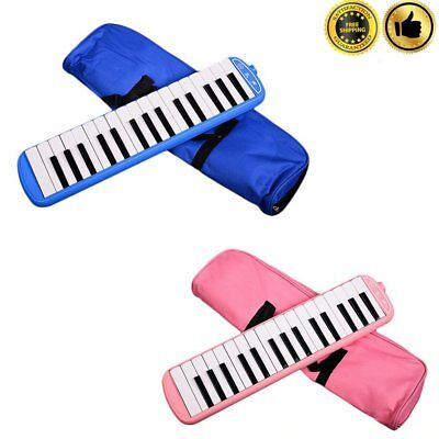 32 Keys Melodica with Carrying Bag Blowpipe Mouth Organ For Music Lover BM