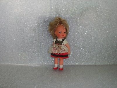 Cute Vintage Antique Ari 3388 Rubber And Plastic Doll, Germany