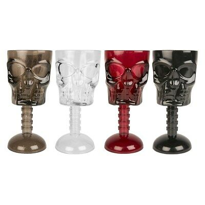 Halloween Skull Face Goblet Plastic Drinking Cup Party Supplies