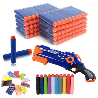 Refill Bullet Darts Nerf N-strike Elite Series Blasters Toy Gun 10 Colors Kids