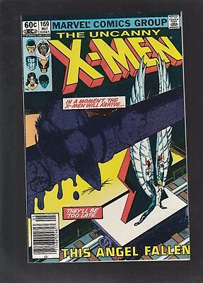 Uncanny X-Men #169 1st Appearance of Callisto & The Morlocks! Angel Kidnapped!
