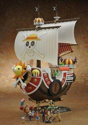 New Anime One Piece PVC Luffy Pirate Thousand Sunny Ship Boat Figure