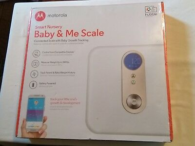 Motorola Smart Nursery Baby & Me Connect Scale - SEALED