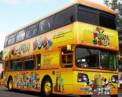 Play bus ,Business For Sale, Party bus, PlayBus, Soft Play Bus, Brochure