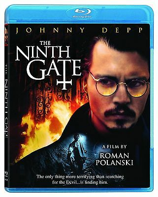Blu Ray THE NINTH GATE. Johnny Depp horror. Region free. New sealed.