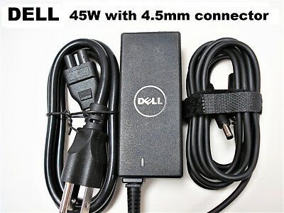 Genuine OEM 45W 19.5V 2.31A AC Adapter Charger for DELL Inspiron 15 P51F P55F