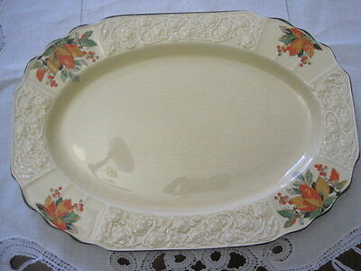 Gorgeous Vintage Myott Autumn Leaves Design Serving Platter