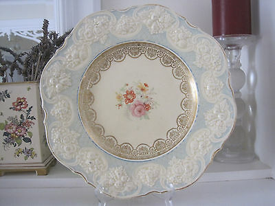 Gorgeous Vintage Crown Ducal Large Ornate Display Plate