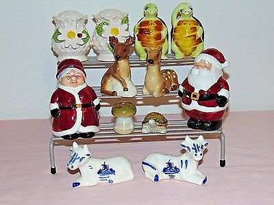 Nice Lot of 6 Sets of Vintage Salt and Pepper Shakers
