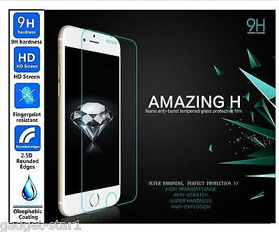 Genuine 100% HD TEMPERED GLASS Screen Protector For APPLE IPHONE 8+ PLUS 8 PLUS