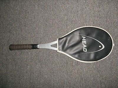 Head Arthur Ashe Competition Tennis Racket and Cover Vintage Collectors Item