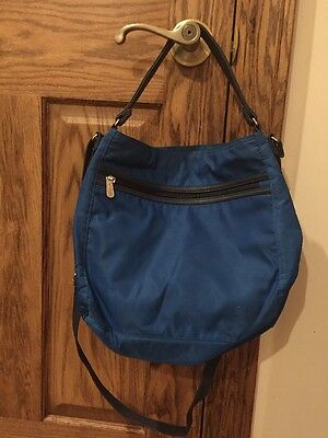 Everything Crossbody Bag Thirty One Daring Cobalt Retired