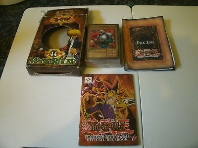 Rare Boxed 1996 Yugioh 44 Magic Ruler Deck Sealed Cards Trading Card Game