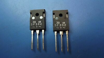 (2PCS) SF302 DIODES INC. Rectifiers 30A 100V TO-3P, 3 PIN