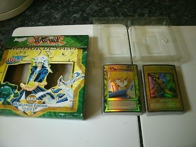 Rare Boxed 2005 Yugioh Rise Of Destiny World Edition Deck Trading Card Game