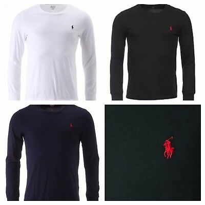 Men's  Ralph Lauren Crew Neck Long Sleeve T-Shirt New with Tag
