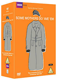 Some Mothers Do 'Ave 'Em-Series 1-3 + Christmas Specials 4-Disc DVD-NEW + SEALED