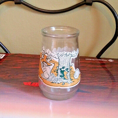 Looney Tunes Glass Taz Tazmanian Devil Welch's Special 5th Edition 4 inch