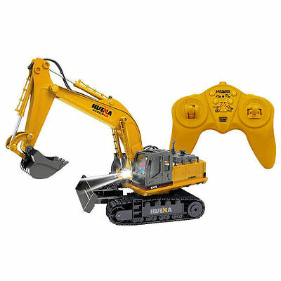 RC Remote Controlled 2.4GHz Die-Cast Tractor Excavator Digger Toy/Car/Truck/Kids