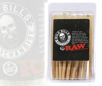 RAW Classic 98 special Size Pre-Rolled Cones (50 Pack)