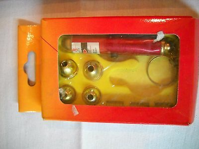 Laser Pointer with 5 Interchangeable Heads with Pattern Tips