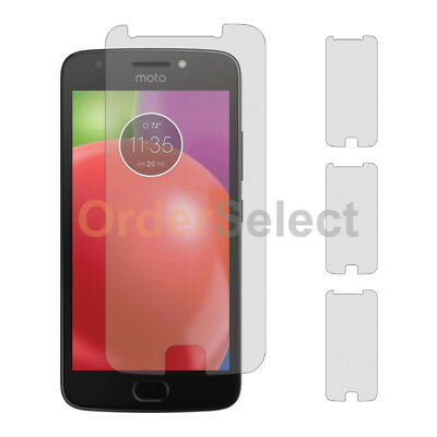 3X NEW LCD Ultra Clear HD Screen Protector for Android Phone Motorola Moto E4