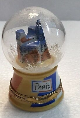 Limoges Box - Paris Snow Globe