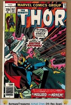 The Mighty Thor #267 (9.4) NM 1978 Bronze Age Key Issue