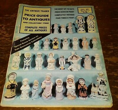 Price Guide to Antiques Trader Magazine FALL 1975 FOCUS: KATE GREENAWAY