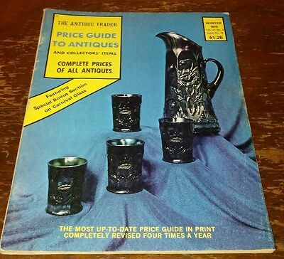 Price Guide to Antiques Trader Magazine WINTER 1975 FOCUS: CARNIVAL GLASS