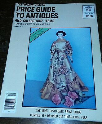 Price Guide to Antiques Trader Magazine OCTOBER 1985 FOCUS: CHINA HEAD DOLLS