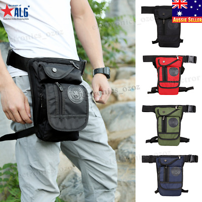 Rider Motorcycle Leg Bag Hip Drop Men Nylon Tactical Military Waist Fanny Pack