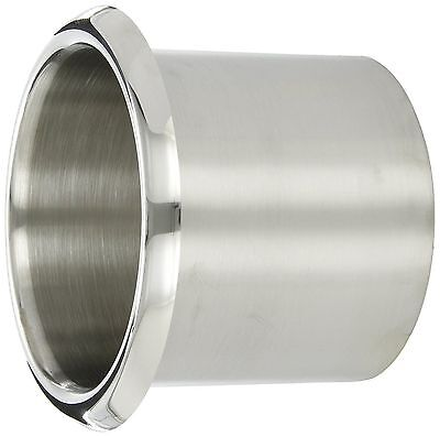 "Bobrick B-529 Stainless Steel counter top Drop-In Trash Chute - 5 1/2"" x 5"" new"