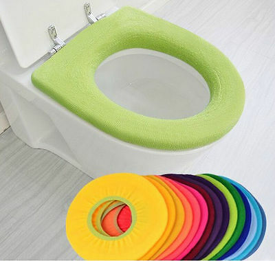 Winter heater heating Candy color general toilet set toilet warm pad
