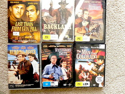 Bulk Lot Of Hard To Get Old Cowboy Movies For The Enthusiast