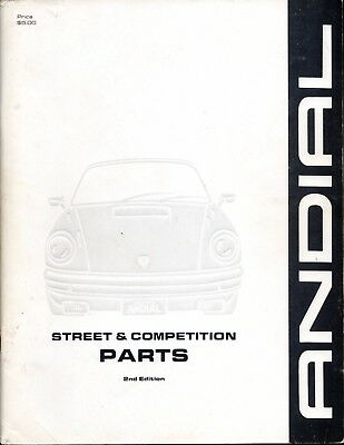 ANDIAL Road & Racing • Street & Competition Parts Manual • PORSCHE • 2nd Edition