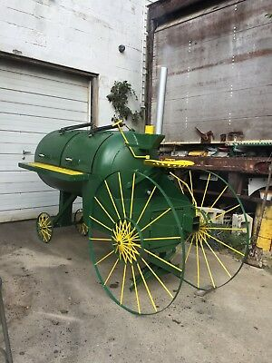 BBQ Smoker custom farm tractor