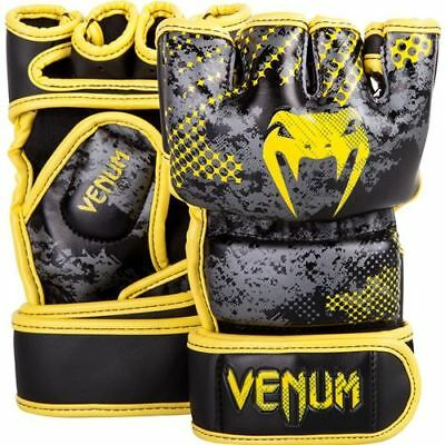 Venum Tramo MMA Gloves - Black/Yellow