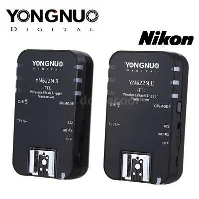 Yongnuo YN-622N II TTL Wireless Flash Trigger HSS 1/8000 For Nikon Cameras V3I5