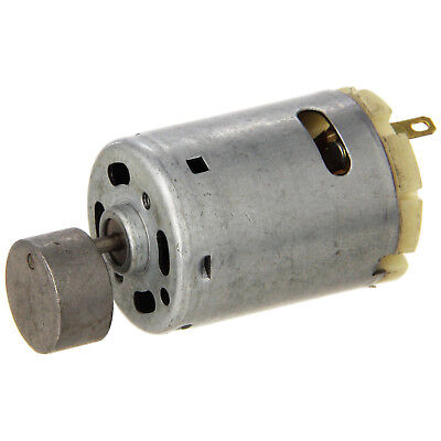 1.1inch Dia Mini Vibration Vibrating Electric Motor DC 12-24V 8000RPM Gray WS