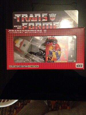 Transformers G1 e-Hobby 67 Orion Pax With Alternate Original Head