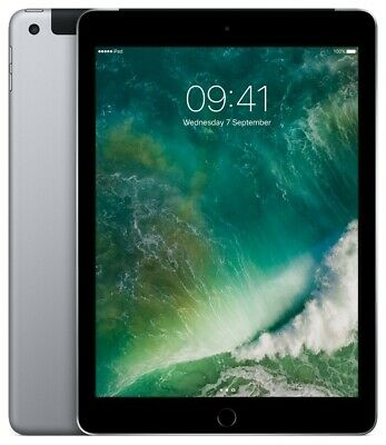 "Apple iPad 2017 spacegrau 32GB LTE iOS Tablet o. Vertrag 9,7"" RetinaDisplay 8MPX"