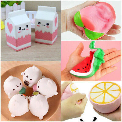Jumbo Slow Rising Squishies Scented Charms Kawaii Squishy Squeeze Toy