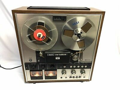 Akai GX-286DB Dolby System Reel To Reel Stereo Tape Recorder In Box Super Rare!