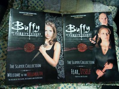 Buffy The Vampire Slayer Bind-up Collection lot vol 1 and vol 2 titan books