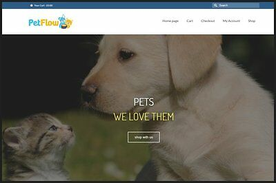 FAMILY PETS Website Business Upto £362.16 A SALE. INSTANT TRAFFIC SYSTEM