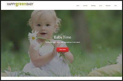 BABY PRODUCTS Website|Upto £761 A SALE|FREE Domain|FREE Hosting|FREE Traffic