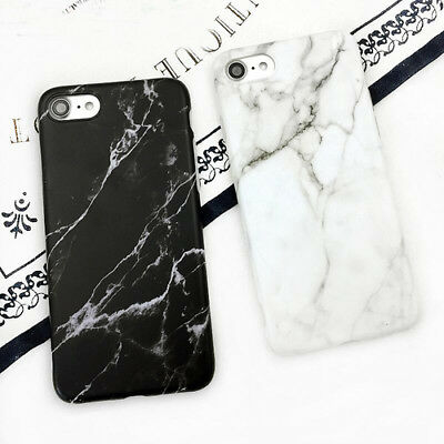 Granite Stone Marble Texture Pattern Soft IMD Case Cover For iPhone 6 6s 7 plus