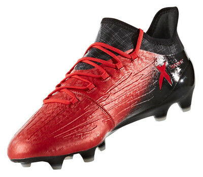 newest 505bb b2ad0 Adidas Men Shoes Soccer Football Boots X 16.1 Firm Ground Cleats Red BB5618  New