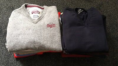 Job Lot 14 Knit Wool Jumpers Boss Superdry Pringle Oscar Mens Ladies  A188